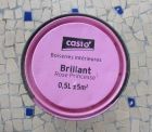 un pot de peinture rose brillant castorama